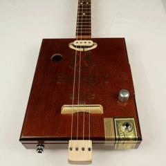 The Lost City 4 String Cigar Box Guitar CBG #2178