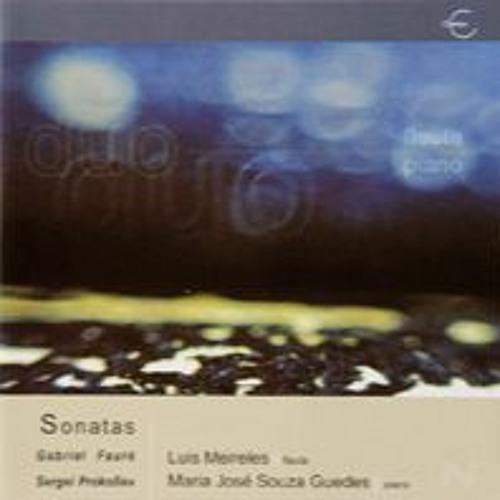Sonatas de Gabriel Fauré e Sergei Prokofiev