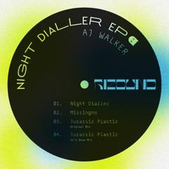 Premiere : A1.  Aj Walker - Night Dialler [BANDCAMP]