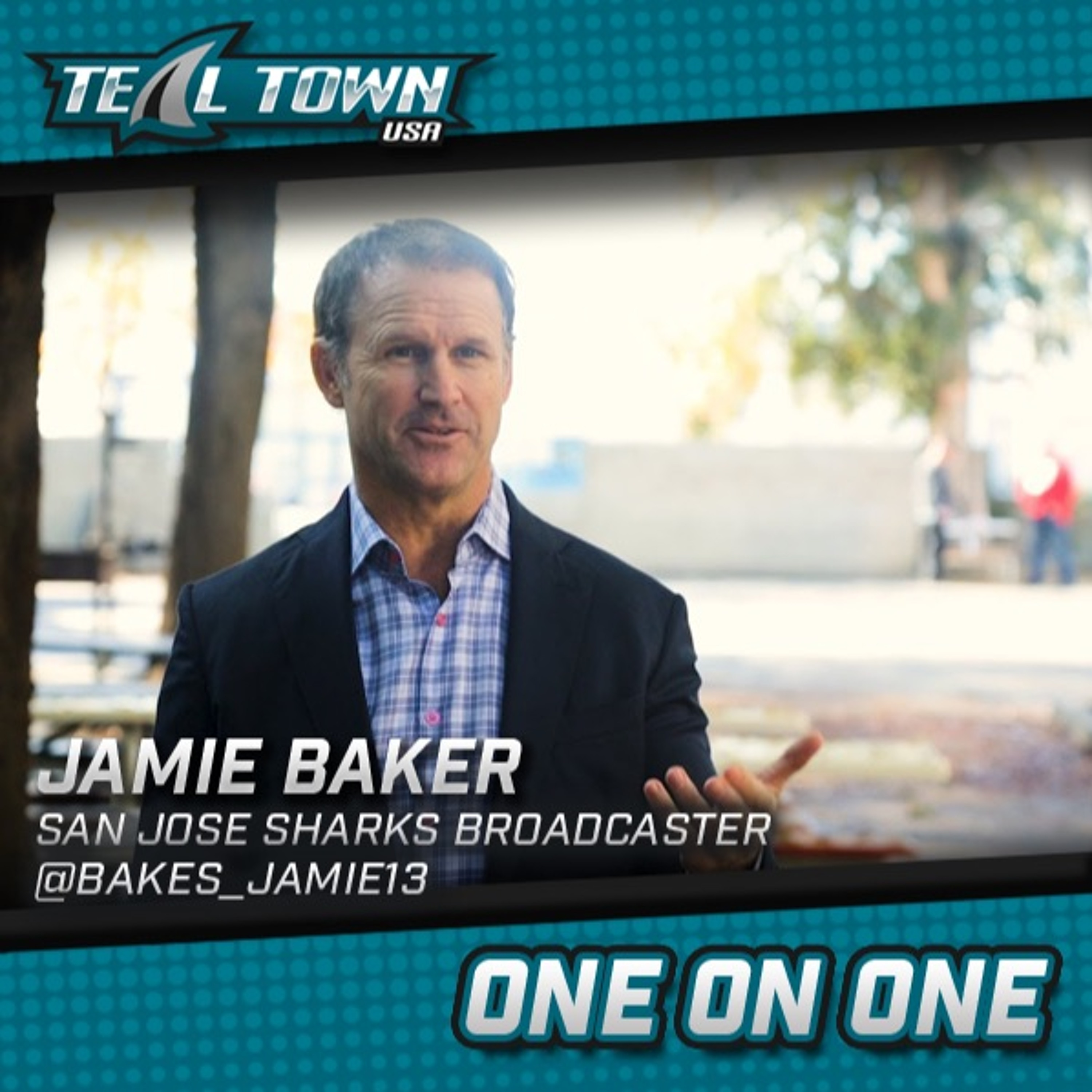 One on One with Jamie Baker - San Jose Sharks broadcaster