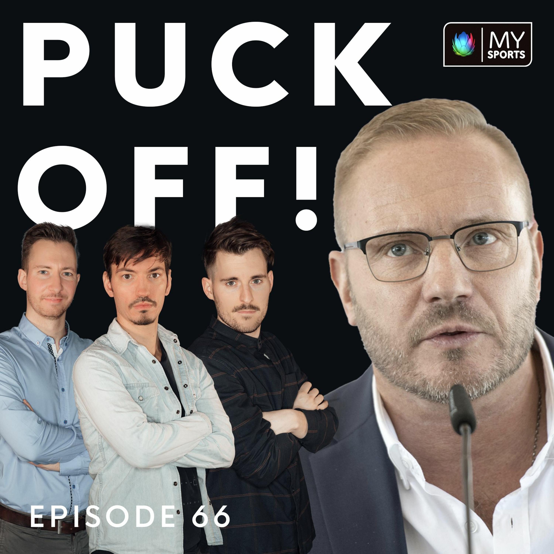 PUCK OFF! Episode 66 - Fischer & das Schiri-Wesen