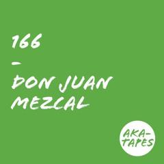 aka-tape no 166 by don juan mezcal