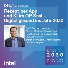 #17: Digital Healthcare / Gast: Gerhard Lesch