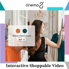 Make Interactive Shoppable Video Online - Cinema8