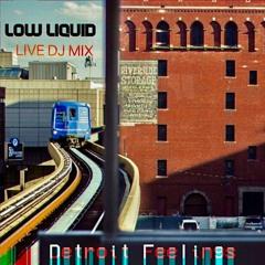 LOW LIQUID - DETROIT FEELINGS (Live DJ Mix At 22.4.21)