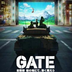 GATE - Opening   Gate (Sore Wa Akatsuki No You Ni)