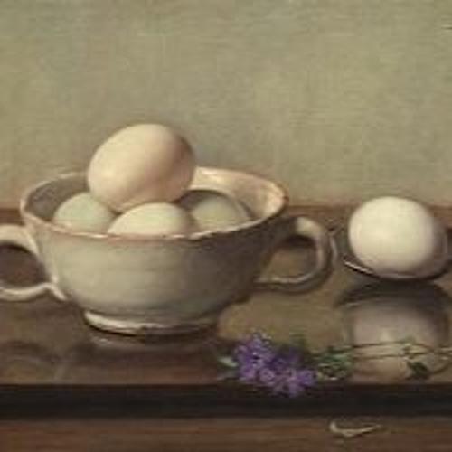 Stop 1. Henk Helmantel over het schilderij 'bakje met eieren' van Jan Bogaerts