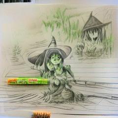 green Nya swamp girl