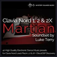 Luke Terry - Martian Clavia Nord Lead & Rack 1, 2 & 2X Soundset Demo
