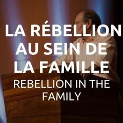 La rébellion au sein de la famille - Autorité et soumission #5   Miki Hardy