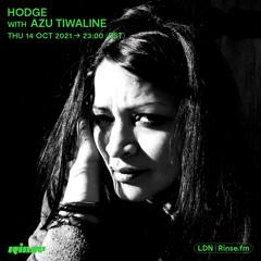 Hodge with Azu Tiwaline - 14 October 2021
