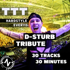 TTT Hardstyle Everyday   D-Sturb Tribute   30 tracks in 30 minutes
