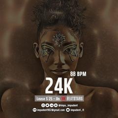 """24K"" - 24kgoldn type hiphop trap R&B type Beat instrumental"