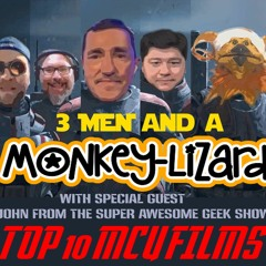 3 Men And A Monkey-Lizard Ep 26 Action Figure Live Show With Super Awesome Geek