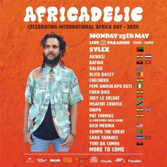き AfriCaDeliC Fest Online 2k20  な LiVe Set By Sylex AfterParty At Pllek 25:05:20 Inst@sylex_yoann