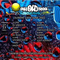 Limited Budget - Melting On The Decks - Drum and Bass - Only Old Skool Radio @limitedbudget