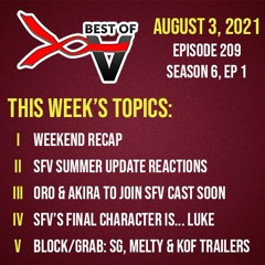 2021-08-03 - BoV Summer Update