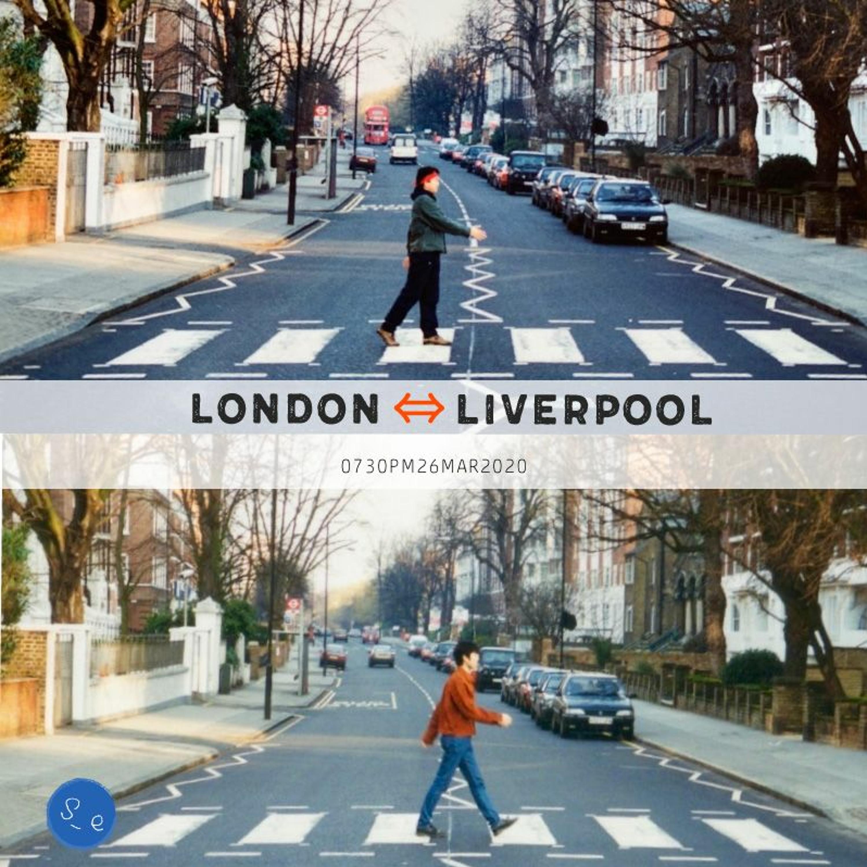 #207 - LONDON ⇔ LIVERPOOL ビートルズを巡る旅 - -26MAR2020