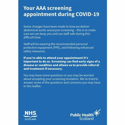 AAA Screening Programme Restart Q&A
