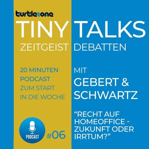 Turtlezone Tiny Talks - Recht auf Homeoffice - Zukunft oder Irrtum?