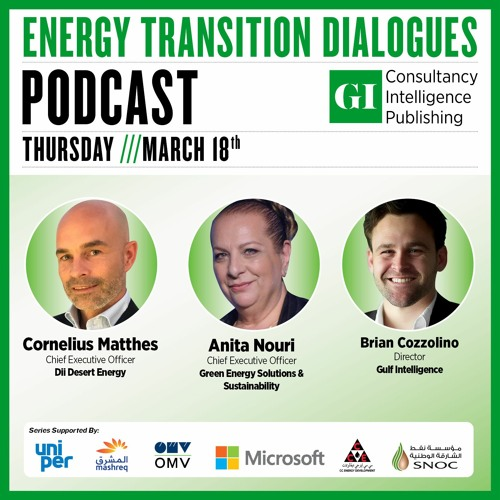 PODCAST: Energy Transition Dialogues – March 18th