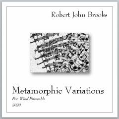 Metamorphic Variations for Wind Ensemble