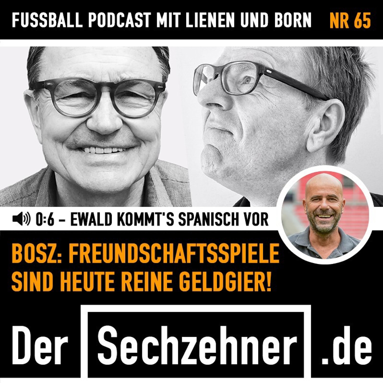 0:6 - Ewald kommt das spanisch vor - dazu Leverkusen-Trainer Bosz im Gespräch