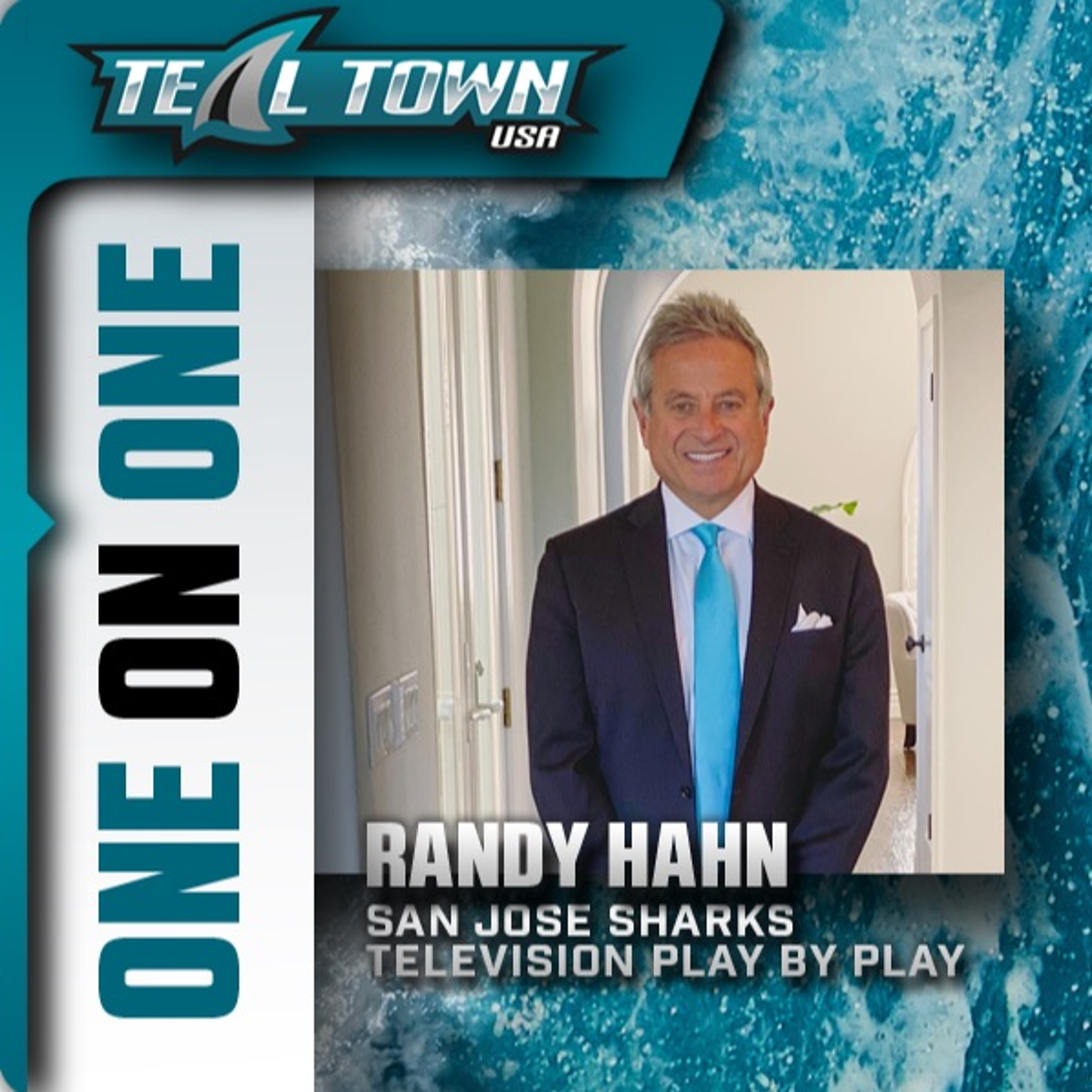 One On One With Randy Hahn - San Jose Sharks Television Play By Play - 10/14/2021