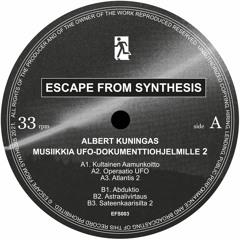 EFS003 - Albert Kuningas - Musiikkia UFO-dokumenttiohjelmille 2 - Sampler