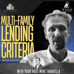 Multi-family Lending Criteria with David Gregg