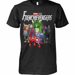 Frenchievengers French Bulldogs Avengers Marvel shirt