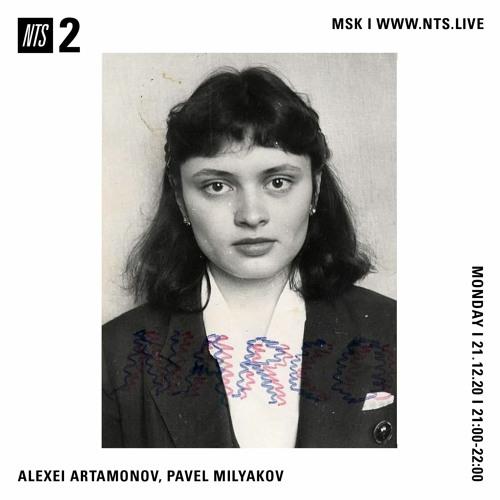 Russian music from '90s NTS mix by Alexei Artamonov & Pavel Milyakov