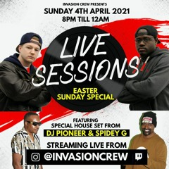 Live Sessions Easter Special Part 5 - Invasion Crew Dancehall