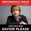 Savior, Please (Low Key Performance Track; Low Instrumental Track)