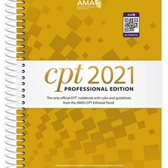 (<B.O.O.K.$> CPT 2021 Professional Edition (CPT / Current Procedural Terminology (Professional Edit