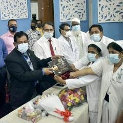 বিএসএমএমইউতে হেলথ কার্ড উদ্বোধন | Jagonews24.com