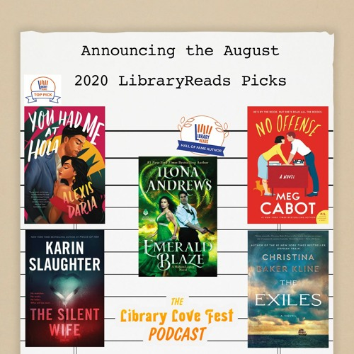 Announcing the August 2020 LibraryReads Picks