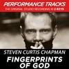 Fingerprints Of God (Performance Track In Key Of D/E)