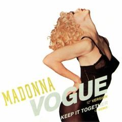 Madonna - Vogue (Dario Xavier 2k21 Pride Remix) *OUT NOW*