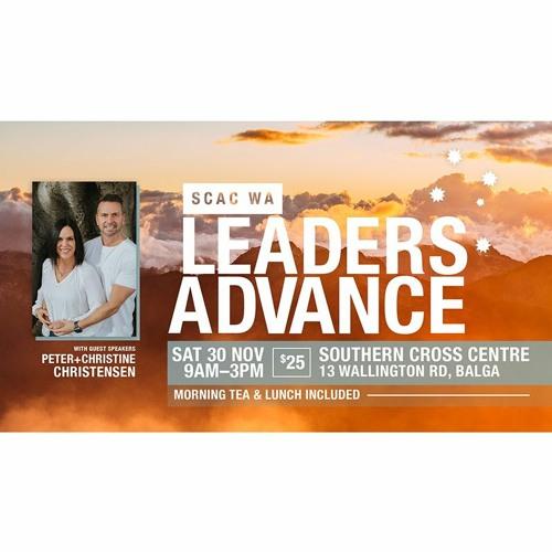 SCAC WA Advance 2019 with Peter & Christine Christensen