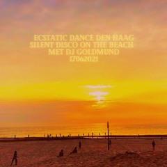DJ Goldmund beach silent disco Den Haag 16072021