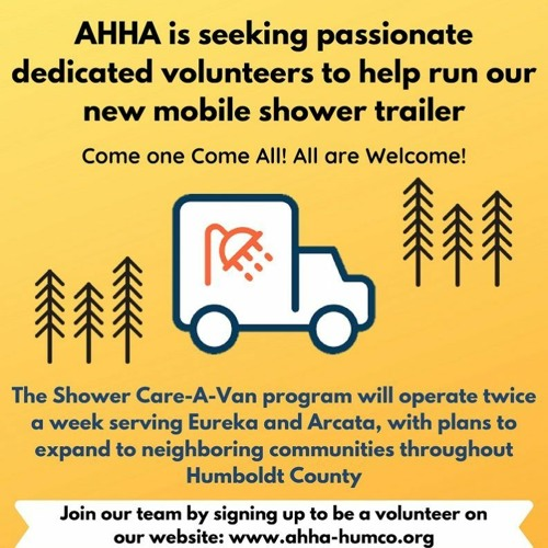 SPECIAL: AHHA Bring Resources to Homeless Southern Humboldt Residents