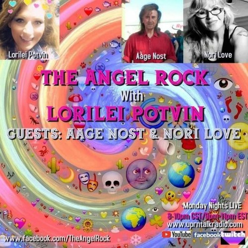 The Angel Rock With Lorilei Potvin & Aage Nost & Nori Love