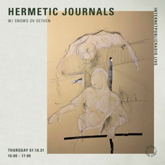 Hermetic Journals : The Music Of Many Rooms (October 2021) @ Internet Public Radio