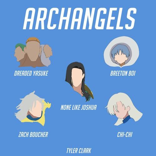 Archangels Rap | NLJ, Chi-Chi, Zach Boucher, Breeton, Dreaded & Tyler Clark | Seven Deadly Sins Rap Image