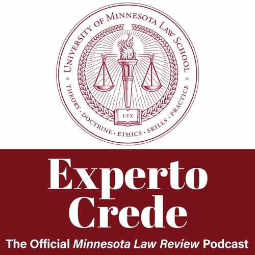 Experto Crede 3.2 - The New Law of Gender Nonconformity w/ Prof. Naomi Schoenbaum