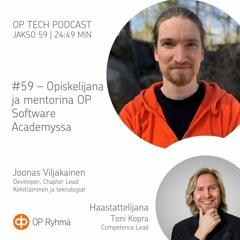 #59 – Opiskelijana ja mentorina OP Software Academyssa