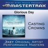 Glorious Day (Living He Loved Me) - Medium without background vocals ([Performance Track])