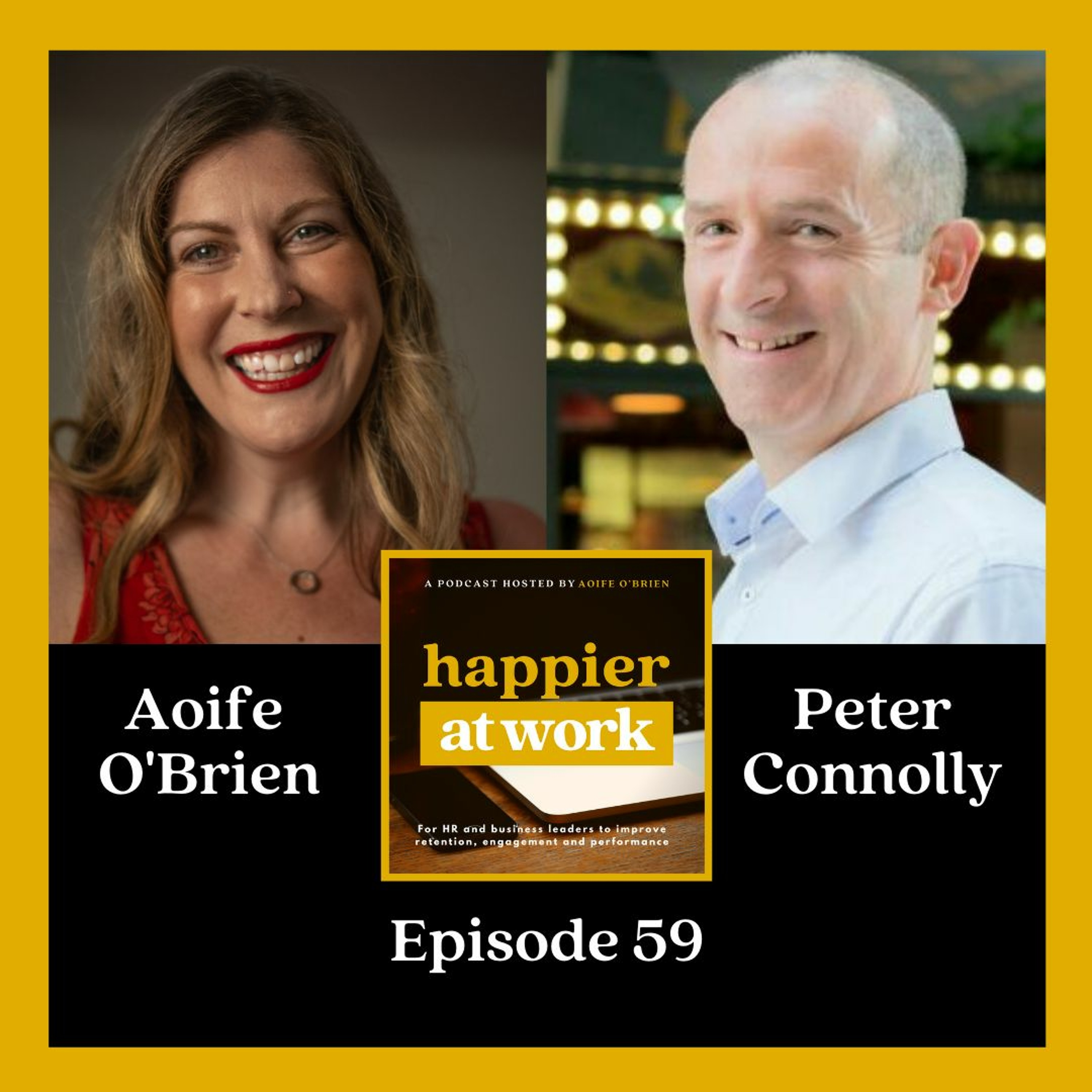 59: Mental Wellbeing & Lifestyle Awareness with Peter Connolly