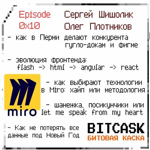 Выпуск 16, Эволюция Miro: онлайн-дашборды
